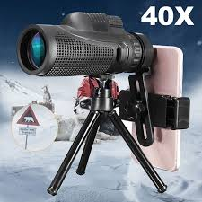 40X <b>Zoom</b> Monocular <b>Mobile Phone</b> Telescope lense <b>40x60</b> For ...