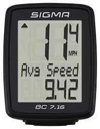 <b>Велокомпьютер SIGMA BC 7.16</b> — купить по выгодной цене на ...