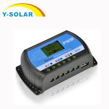 <b>30A 20A 10A</b> Solar Charge Controllers LCD <b>PWM</b> with DC 5V USB ...
