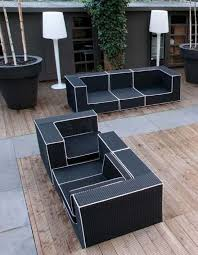 black and white patio furniture black and white patio furniture