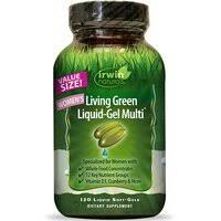 «Irwin Naturals Мультивитамины для женщин «Living Green» 90 ...