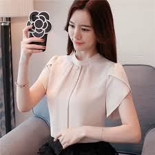 40% <b>OFF 2019</b> new fashion Korean Office Blouses <b>Women Summer</b> ...