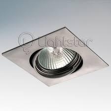 Точечный <b>светильник Lightstar 011039 Lega</b> Qua Adj - купить ...
