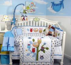 baby nursery large size cute blue crib bedding sets for boy or girl funky nursery baby furniture for less