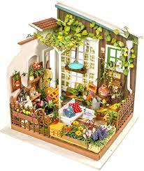 Hands Craft, DG108, DIY 3D Wooden Miniature ... - Amazon.com