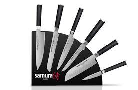 <b>Набор</b> из 6-ти кухонных <b>ножей Samura MO</b>-<b>V</b> и магнитной ...