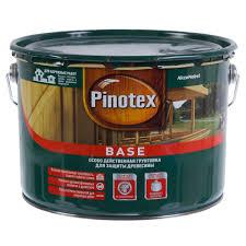 <b>Грунт</b> деревозащитный <b>Pinotex Base 9 л</b> в Санкт-Петербурге ...