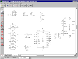 free mechanical engineering  cad software    schematic design software  screenshot created by open source created by express pcb operating system  windows