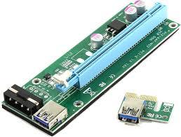 <b>Аксессуар Адаптер Espada</b> PCI-E X1 M to X16 F EPCIekit02 | www ...