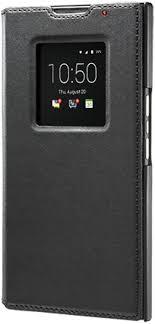 BlackBerry <b>Leather Smart Flip Cover</b> Case for BlackBerry: Amazon ...