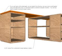 apply edge banding to the front and sides or all four sides with an iron and trim edges off followed by a quick sanding to finish plywood edges ana white completed eco office desk