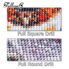 2019 <b>FULLCANG</b> Full Square/Round Drill 5d <b>Diy</b> Diamond Painting ...