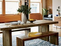 cream compact extending dining table:  lifestyle