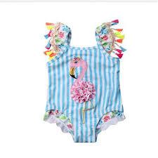 <b>Swimsuit</b> Toddler Kids Baby Girls <b>Flamingo Bikini</b> Set <b>2019</b> Newest ...