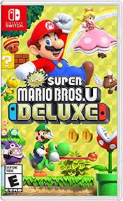 New Super Mario Bros. U Deluxe - Nintendo Switch ... - Amazon.com