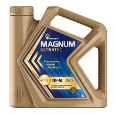 Rosneft Magnum Ultratec 5W-40 4л. <b>Масло моторное</b> (замена ...