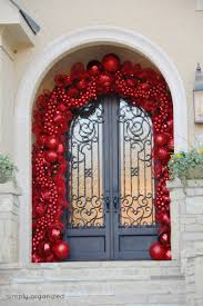 christmas door decor  christmas door decorating ideas best decorations for your front door