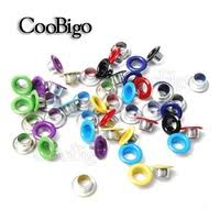 50sets <b>Metal</b> Black Nickel Eyelets with Grommet for Leathercraft ...