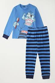 Хлопковая <b>пижама</b> с ярким принтом <b>Original Marines</b> - купить ...