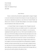 the most dangerous game essay   it sets a tone that interests the     pages modernism essay lit