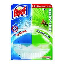 <b>Освежитель</b> для туалета <b>BREF</b> DUO ACTIVE, гель, з/б, 60 мл ...