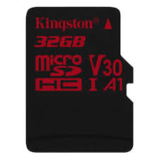 <b>Карта памяти Kingston Canvas</b> React microSDHC 32Gb UHS-I U3 ...