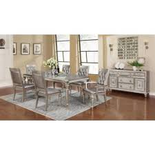 Danette Metallic <b>Seven</b>-<b>Piece Dining Set</b> | 106471-S7 | Dining ...