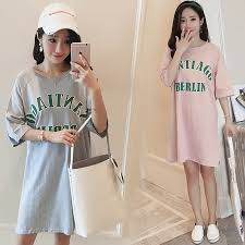 319 New t shirt maternity summer wear <b>Korean style cotton</b> ...