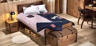 Black <b>Pirate Детская</b> комната с широкой кроватью (кровать ...