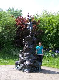 tiger lily emsworth the base of the statue of peter pan in kensington park which we ed on our trip to london several years ago is composed of a jumble of the magical and