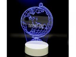 <b>3D лампа Veila 3D Глобус</b> 1050