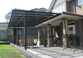 aluminium patio cover surrey: patio covers  inch post glass patio cover resize