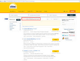 over 8 lacs job openings in digital marketing listed on top 4 job content marketing jobs on shine com