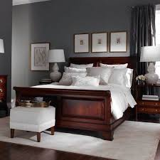 good combo of neutrals and heavy furniture move over beige gray is the new neutral we are using it everywhere from paint seen here to fabrics to bedroom furniture photo