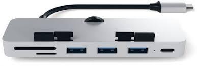 Концентратор <b>Satechi Aluminum Type-C</b> clamp hub pro ST-TCIMHS