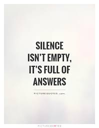Image result for silence quote