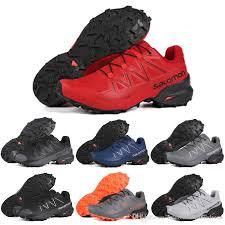 <b>Hot sale</b> Salomon Speedcross 5 <b>CS</b> Men Running Shoes red white...