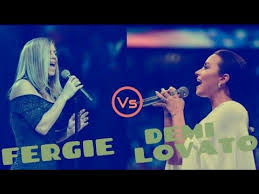 Demi Lovato VS Fergie Singing the 'National Anthem'. - YouTube