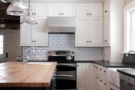 subway kitchen kitchen subway tile kitchen contemporary with white shelves white