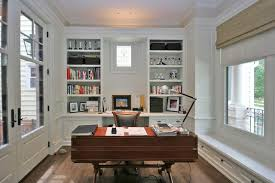 old irving park single family home traditional home office chicago home office
