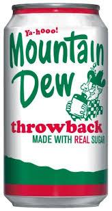 <b>Газированный напиток Mountain Dew</b> Throwback — купить по ...