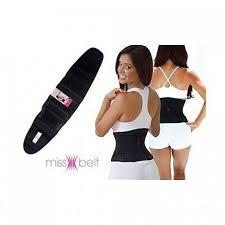 <b>Утягивающий пояс</b> для похудения Miss <b>Belt</b> черный L/XL купить в ...