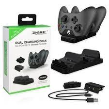 <b>Зарядная станция</b> с 2-я аккумуляторами для геймпадов Xbox One