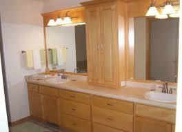 ideas bathroom counter storage