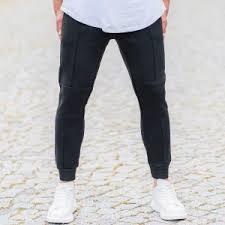 <b>Men's New Style</b> Joggers In Coal