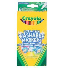 <b>Фломастеры Crayola</b> смываемые <b>Супер чисто</b> 8 шт., артикул: 58 ...