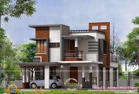 Low cost contemporary house   Kerala home design and floor plansLow cost contemporary house