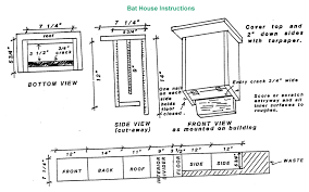 Bat House Plan   Modern Home    Landowner    s Guide  Bats Best Bat House Plan Trend On
