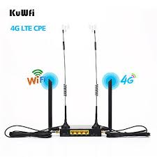 <b>KuWFi</b> 4G <b>WiFi Wireless Router 300Mbps</b> Cat 4 <b>High</b> Speed CPE ...