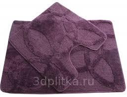 <b>Fixsen FX</b>-<b>0128A</b>-<b>2</b> Purple фиолетовый <b>коврик</b> для ванной купить ...